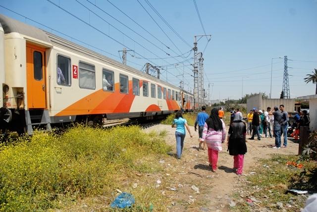 قطار وجدة يقتل ثلاثة أشخاص