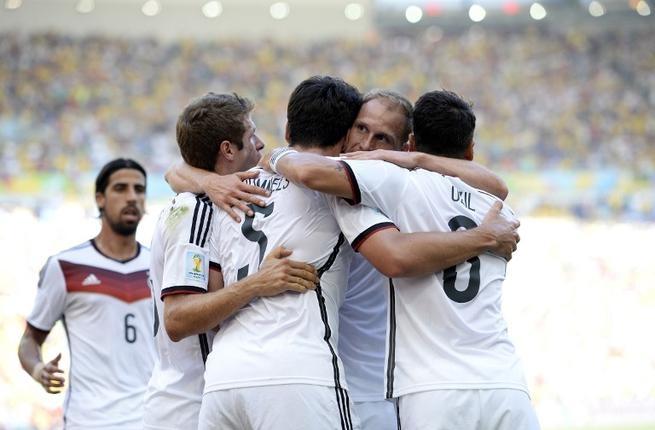 ألمانيا تصل لنصف نهائي المونديال