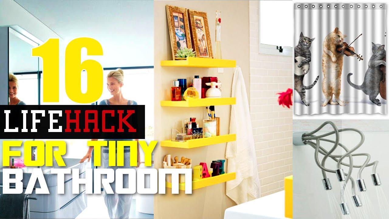 16 فكرة ذكية للتخزين في حمامك الصغير