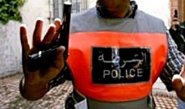 الرباط.. شرطي يستعمل سلاحه الوظيفي لتوقيف 4 مجرمين