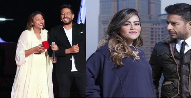 زوجة محمد حماقي تعلق على تقديمه خاتم الخطوبة للمغربية شيماء عبد العزيز في